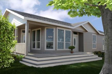 New Manufactured home on land